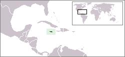 zemljevid Jamajke